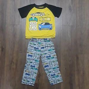 ⚡3/$25 Carter's Racecar Pajamas